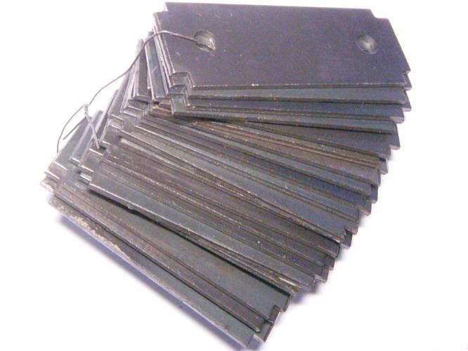 Модифицированный комплект молотков для зернодробилки Эликор