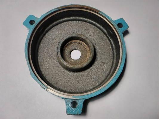 Крышка двигателя министанции WZ250 на 3 болта