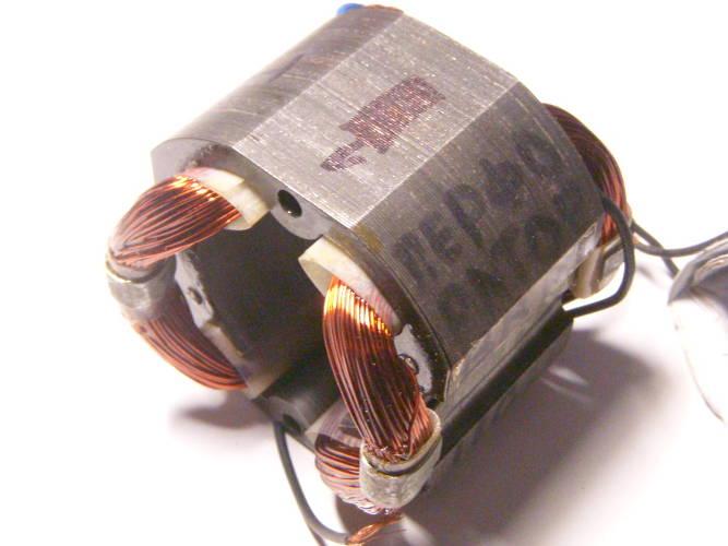Реставрация статора перфоратора Einhell BRH 1100