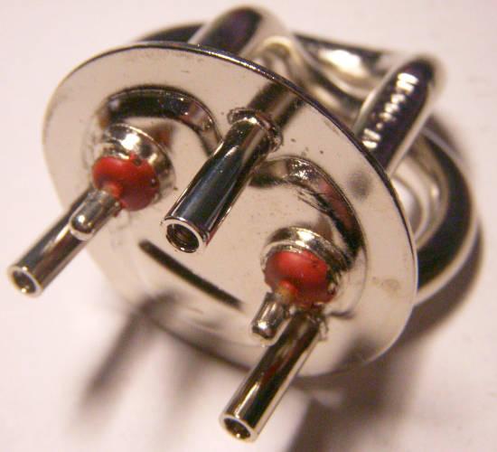 Хромированный трубчатый тэн 80 мм электрочайника мощностью 1 кВт