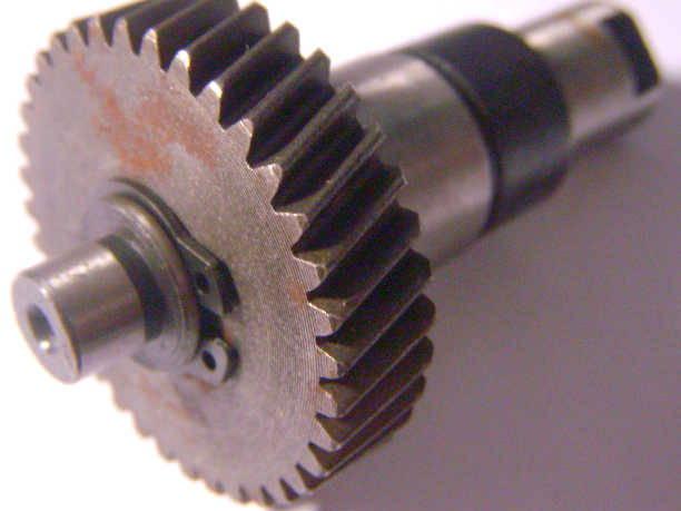 Вал 70 мм с шестерней 12*40 для дисковой пилы Rebir, Ворскла