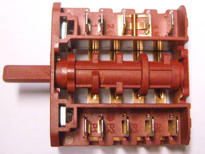 5-ти позиционный переключатель MTA-04 413-280416 для электроплиты