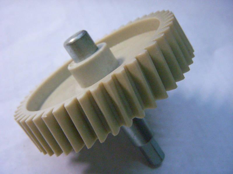 Шестерня на металлическом валу для электромясорубки SATURN ST-FP1098