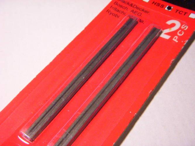 Узкие ножи для электрорубанка Makita, Ryobi, Hitachi, Stern, Einhell шириной строгания 82 мм