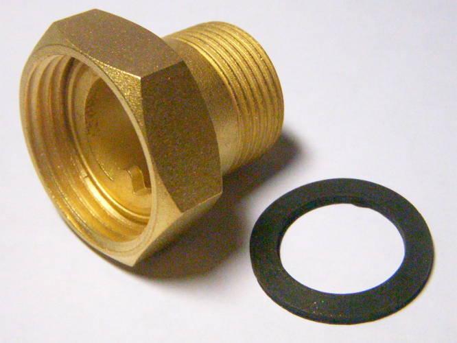 Итальянское соединение для насоса отопления 25->32 мм