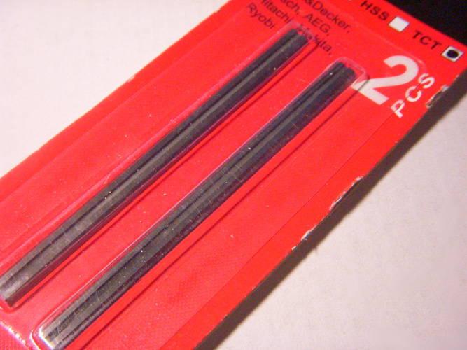 Ножи электрорубанка Makita, TCT 82 мм с алмазными режущими кромками
