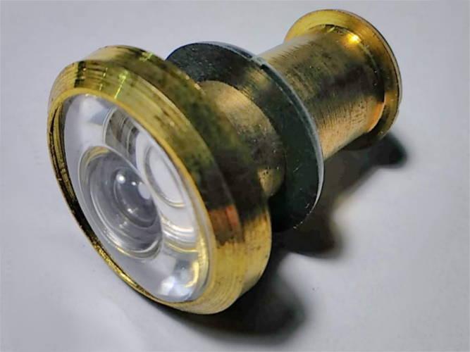 Стандартный (35-52мм, 200°) дверной глазок B-203