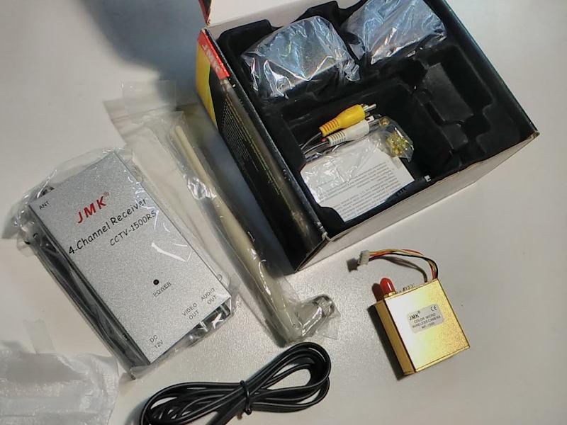 Беспроводный аудио-видео передатчик (1,5 Вт) с микро/мини камерой