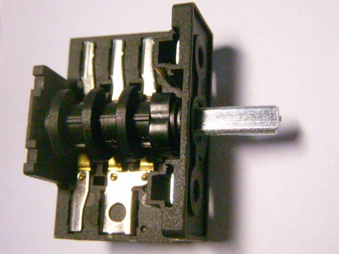 Четырехпозиционный переключатель электроплиты Luxell на 16Ампер