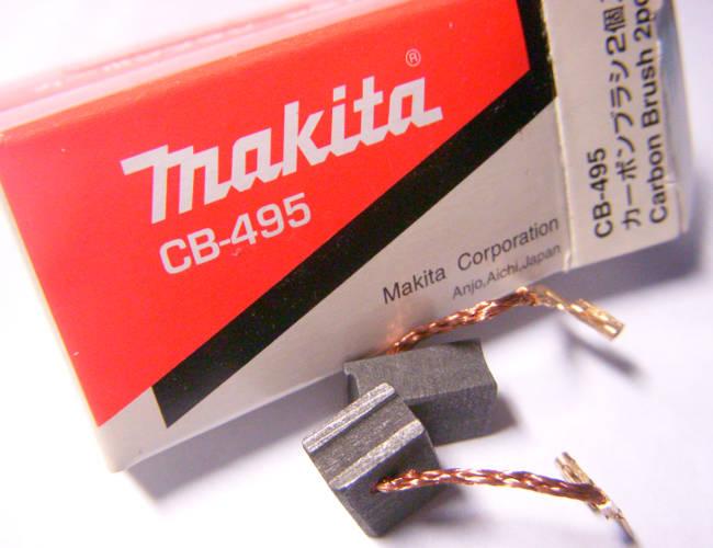Оригинальные щетки для болгарки Makita CB-495A