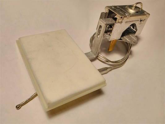 Терморегулятор Damper SC 359 холодильника No Frost с заслонкой 55*85