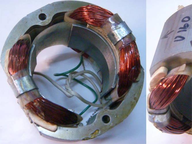 Статор цепной пилы под 405 шину ТЕМП, Stern CS-405, CRAFT-TEC S2100, Интерскол ПЦ-2000