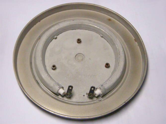 Дисковый тэн электрочайника диаметром 150 мм с тремя гайками