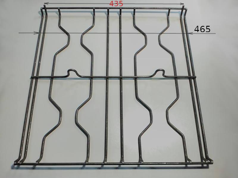Решетка 465*465-435 для газовой плиты Азовмаш, Подолянка