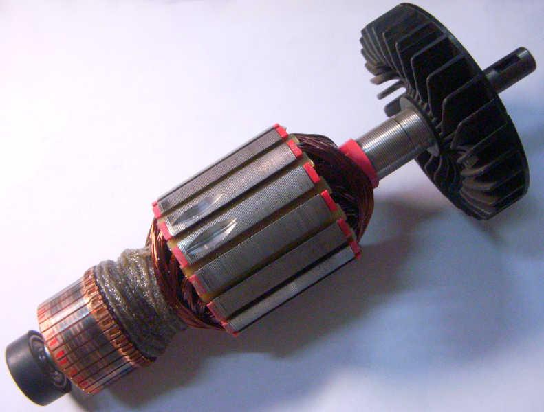 Якорь двигателя болгарки Ворскла 230 200*54-177