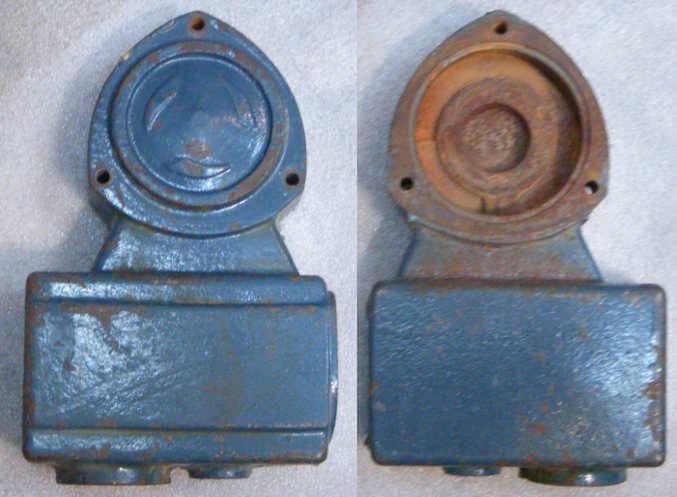 Передня крышка старых насосов WZ750