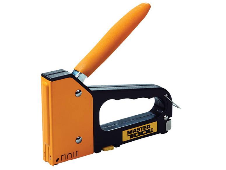 Профессиональный степлер 4 в 1 Master Tool 41-0907