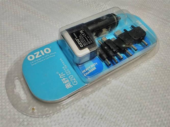 Универсальное атомобильное зарядное устройство OZIO G20 + USB