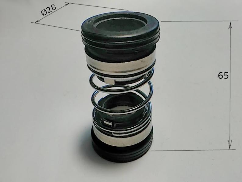 Двойное торцевое уплотнение 202-15 с кольцами 28 мм