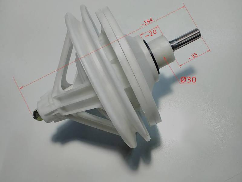 Редуктор на 10 шлицов для стиральной машины Saturn, Digital DW-68G