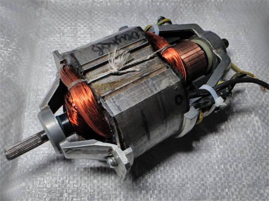 Ремонт двигателя электрокосы размером L205-90*74