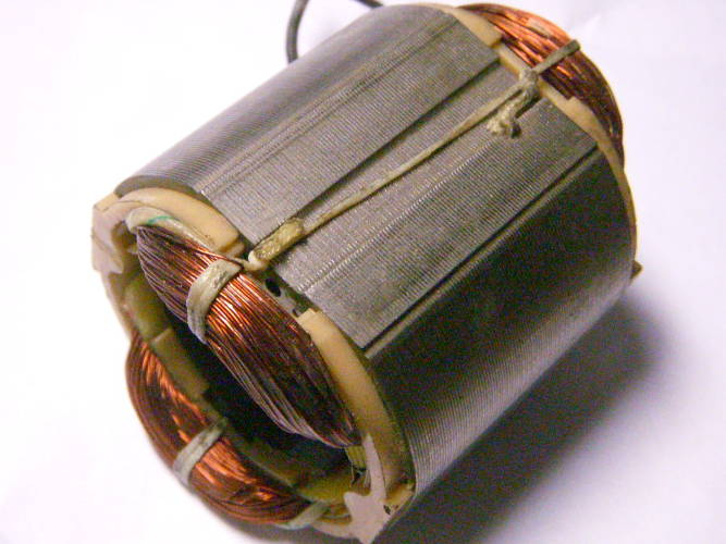 Статор d36.5*59-L46 для болгарки под якорь 36 мм
