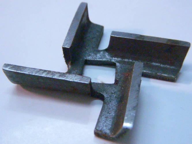 Нож 46.5*8 для электромясорубки Эльво, DEX DMG-123