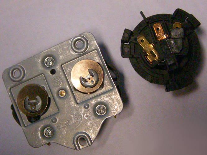 Автоматика SLD-155 10А для подключения чайника на три болта