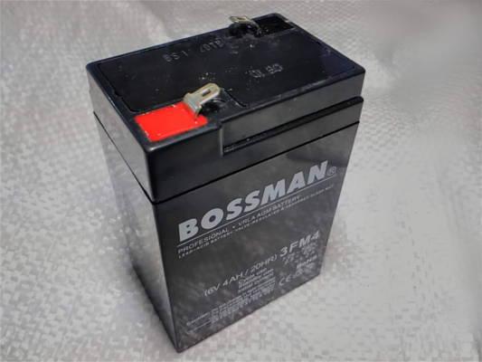 Аккумулятор 6V 4Ah 68*100*44 мм с открытыми клеммами ENGY/Bossman 3FM4