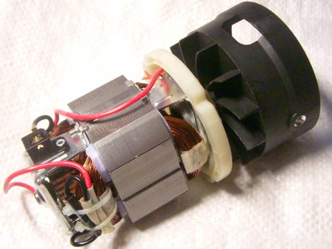 Двигатель в сборе электротриммера Протон ЭТ-750