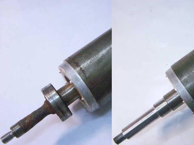 Ремонт ротора насоса Karcher BPE-4000/45