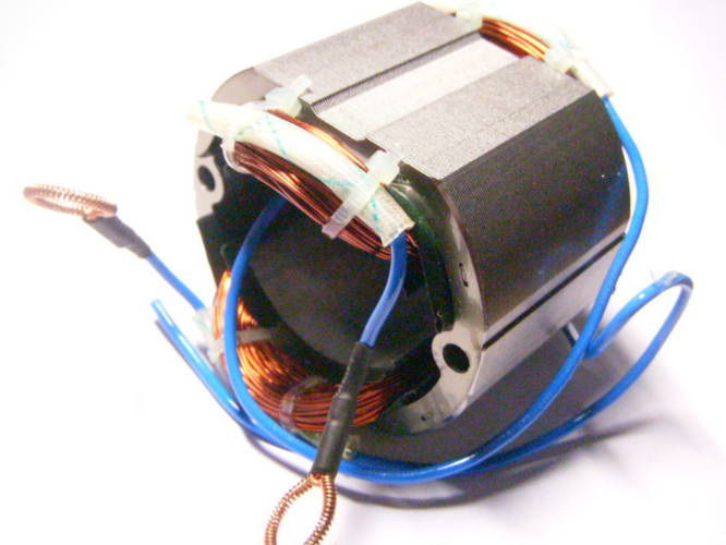 Статор 72*43*46 цепной электропилы Зенит, Союзмаш, Ворскла ЦП-1600