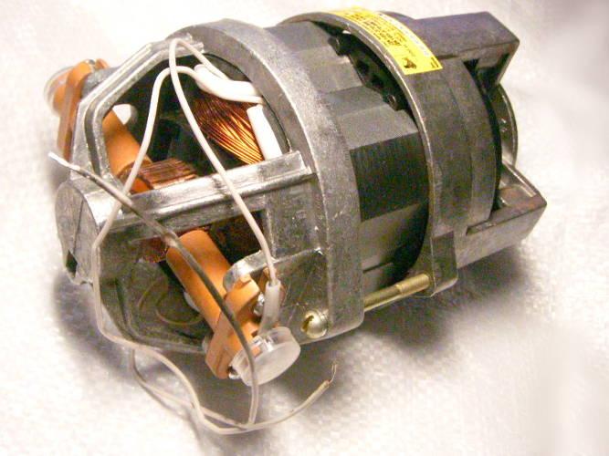 Однофазный электродвигатель ДК105-750-12 для станка и зернодробилки