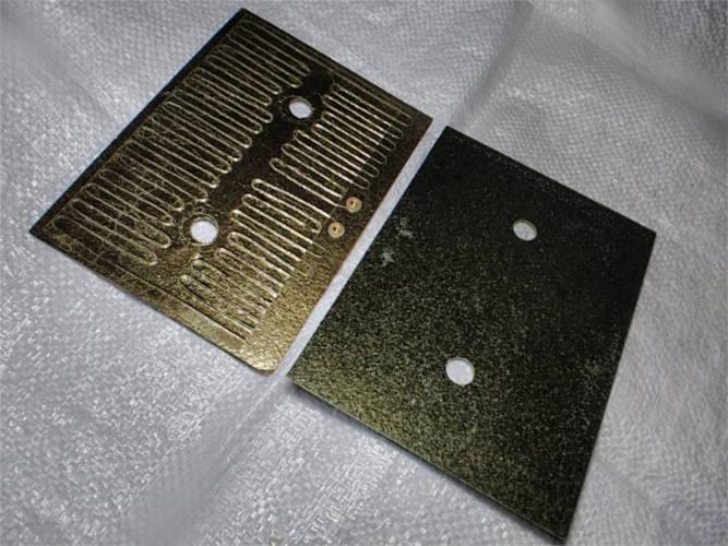 Слюдяной элемент ПЭН 500W 195x140мм для электровафельницы