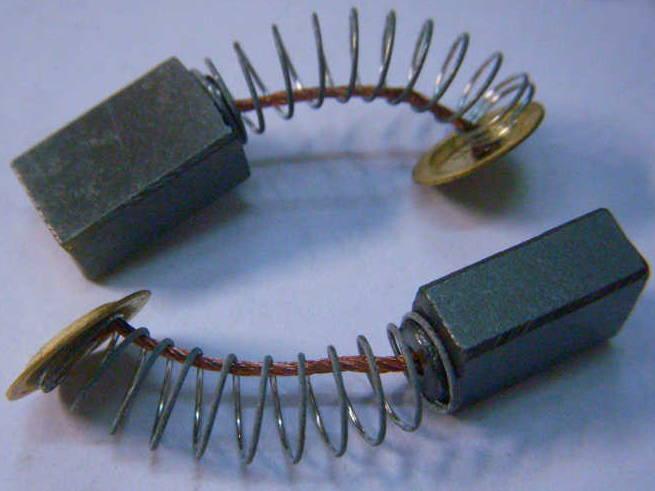 Щетки 7*11 с контактами пятаками в пружинах