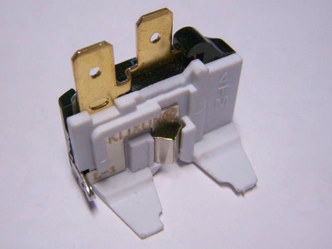 Whirlpool Refrigerator Overload Switch пускозащитное реле KLIXON 757NFBYY