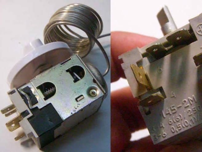 Терморегулятор ТАМ-145 1,3М для морозильной камеры холодильника