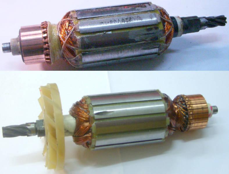 Якорь 41 мм для торцовочной электропилы РОС-Wood BW210
