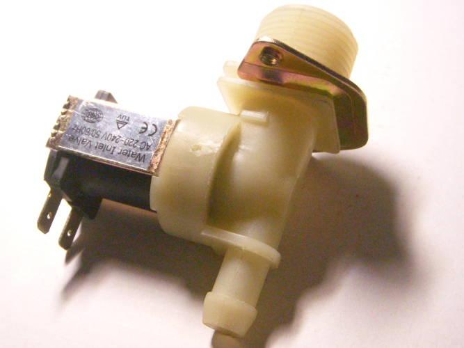 Одинарный электроклапан стиральной машины