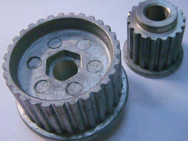 Заводской комплект шкивов 48*28 для электрорубанка Rebir,