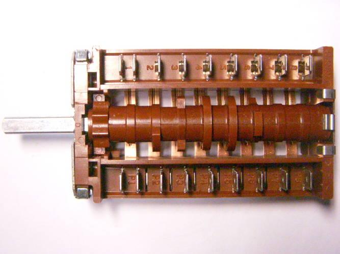 8-ми позиционный 9-ти контактный переключатель EGO 42.08000.025 для электроплиты