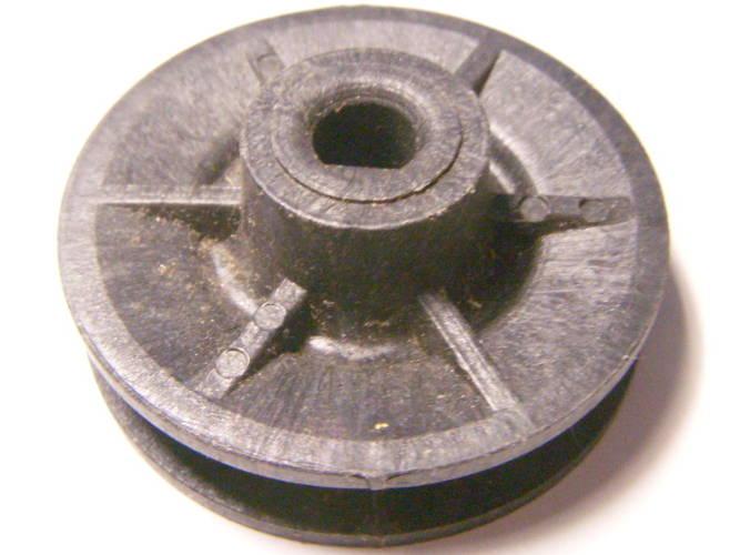 Пластиковый 40 мм шкив под клиновой ремень профиля Z