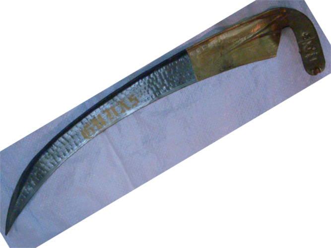 Качественная ручная садовая отбитая ручная коса Gunas №6