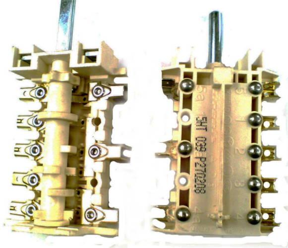 7-ми позиционный переключатель 5HT 039 P270208 для электроплиты