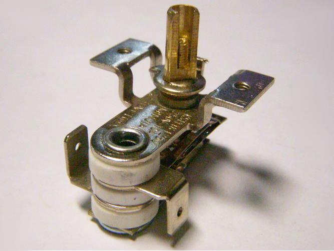 Биметаллический термостат KST118 10A с штоком 12 мм