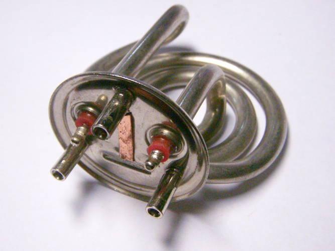 Трубчатый нагревательный тен 2 кВт для электрочайника Delimano, Saturn, DELFA