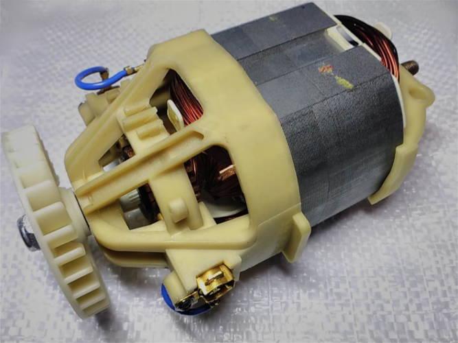 Электродвигатель триммера Садко, Витязь, AL-KO под якорь на шпонке