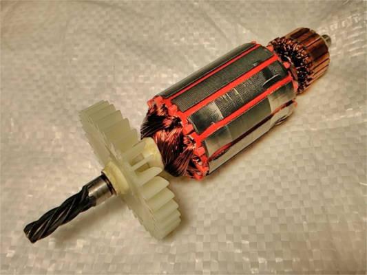 Якорь L146-d35-z5 для электродрели Электромаш 1050 Ворскла Ритм
