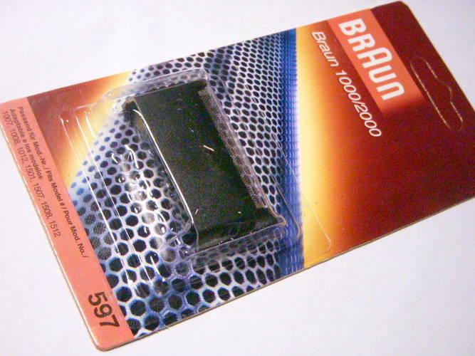 Стригущий блок электробритвы Braun 596 серии 1000/2000