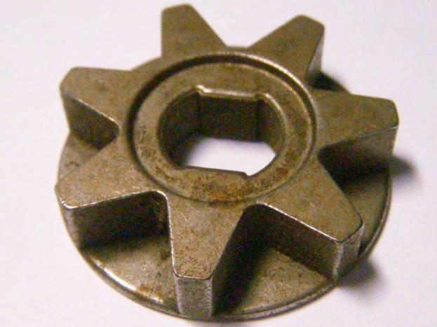 Звезда 36 мм с бортом для цепной пилы Einhell
